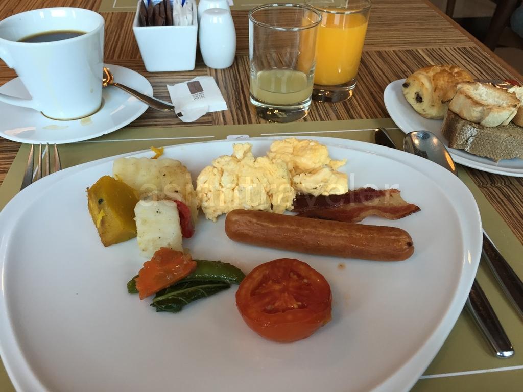Grand Swiss Sukhumvit 11(グランド スイス スクンビット11)の朝食