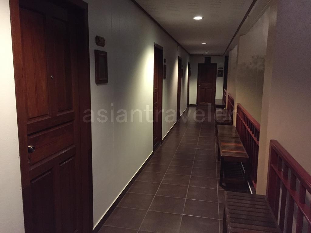 タイ・コンケン「Phanthipha Residence(パンティッパ レジデンス)」の廊下