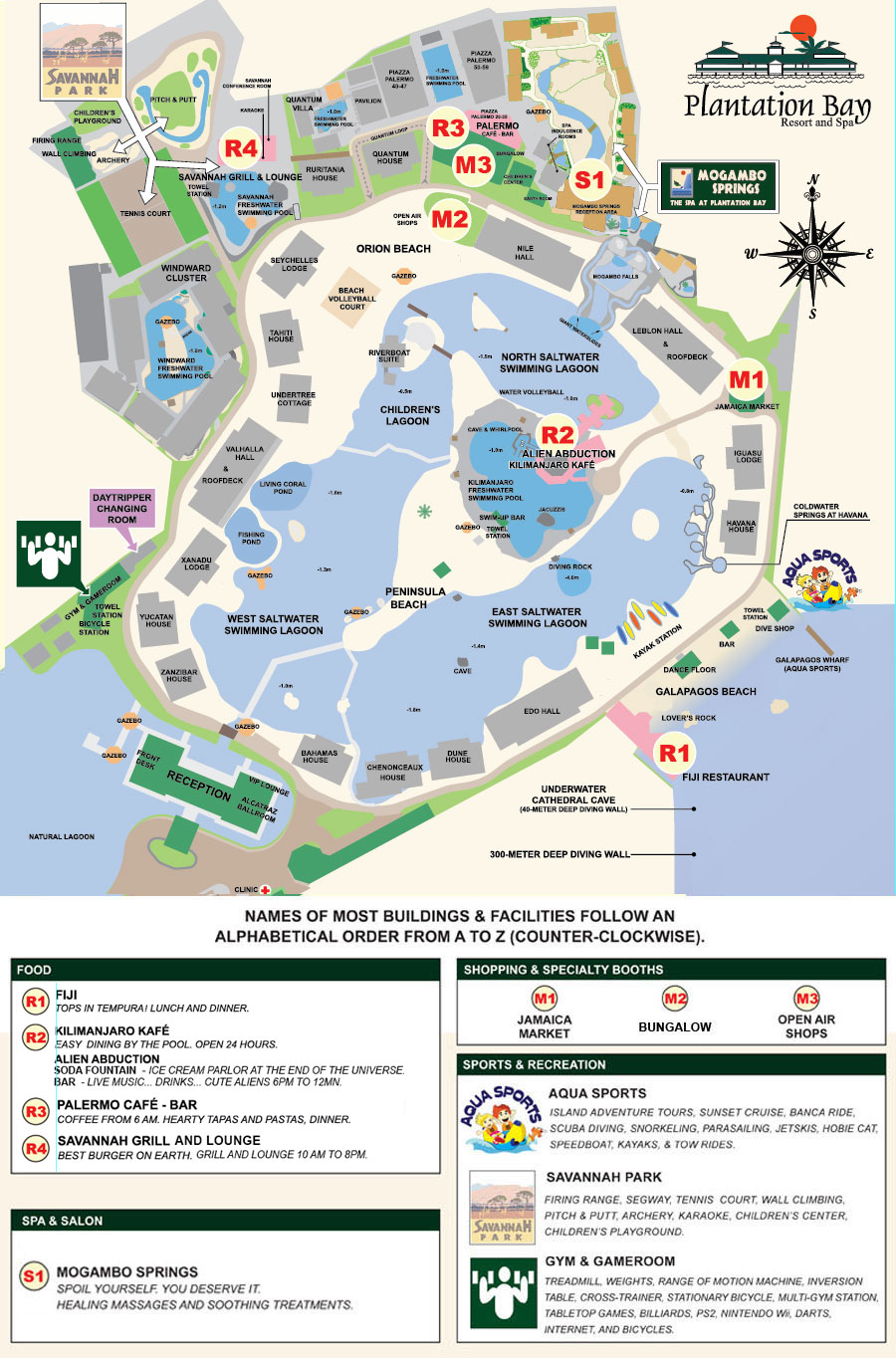 Plantation Bay Resort & Spa(プランテーションベイ リゾート&スパ)の地図