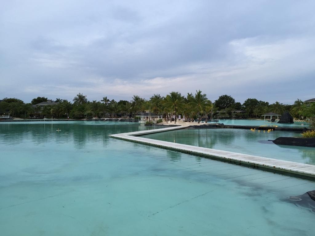 Plantation Bay Resort & Spa(プランテーションベイ リゾート&スパ)の広大なラグーン