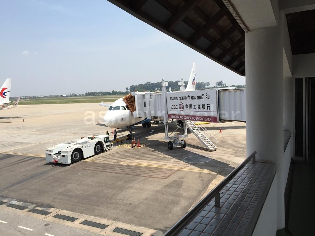 Bangkok Airwaysの機体