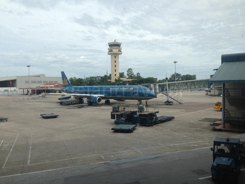 Vietnam Airlinesの機体